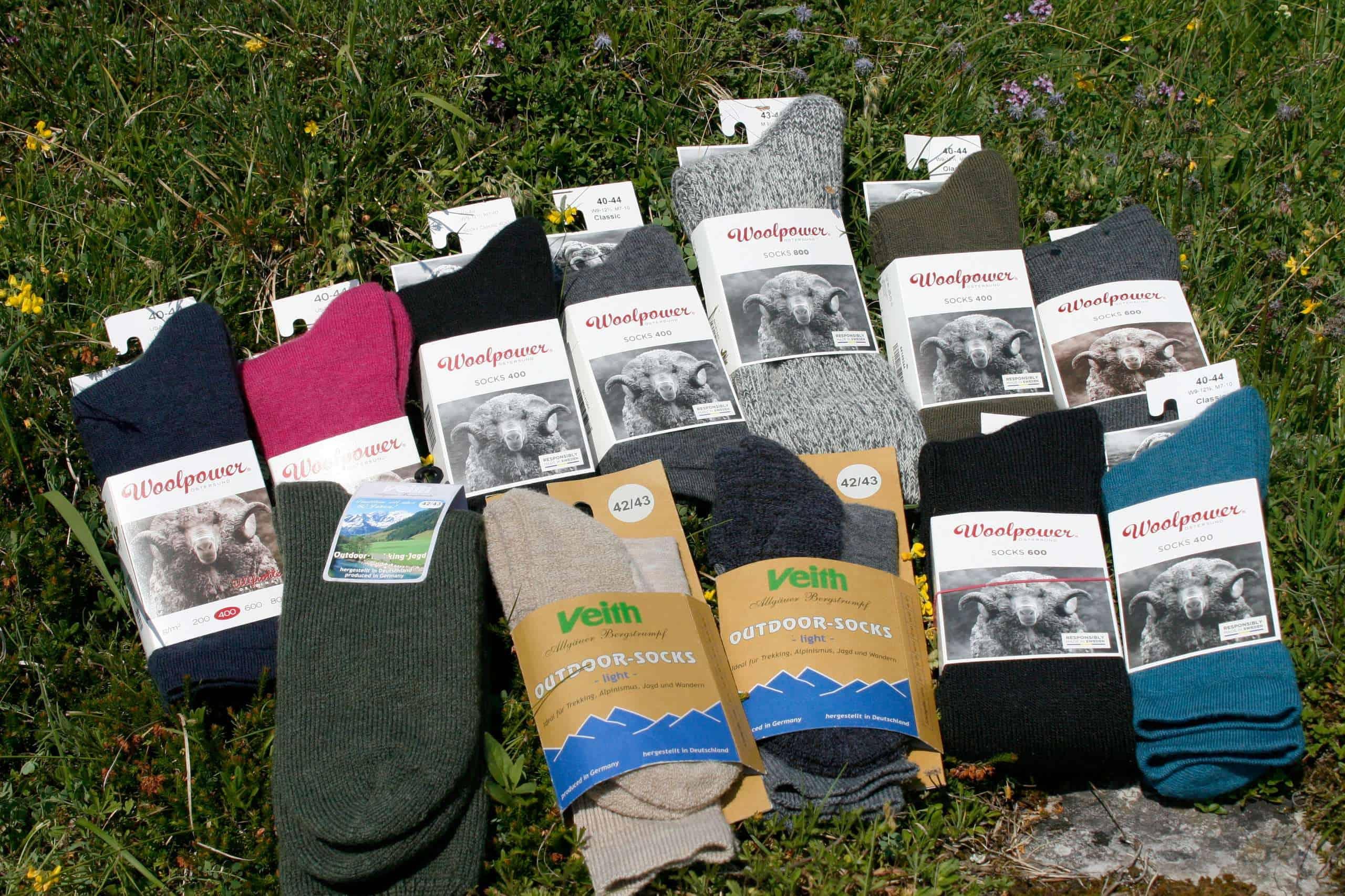 Socken Beispiel